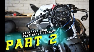Video Clip On Bars on Kawasaki ER6N? | Cafe Racer Project | Part 2 MP3, 3GP, MP4, WEBM, AVI, FLV November 2018