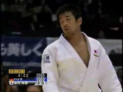 Tai-otoshi par Masahiko Tomouchi (JPN)