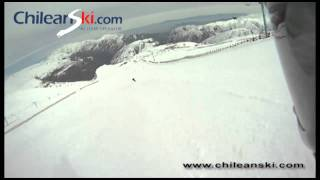 El León ski trail video, El Colorado Chile