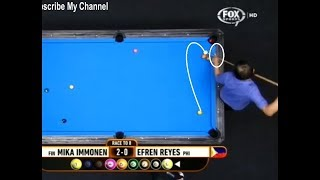 Video BEST Game EVER! - Legend Efren Reyes vs Mika Immonen (2018) MP3, 3GP, MP4, WEBM, AVI, FLV November 2018