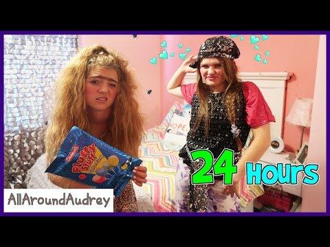 GERTIE And THERMA 24 HOURS In JORDAN's Room / AllAroundAudrey