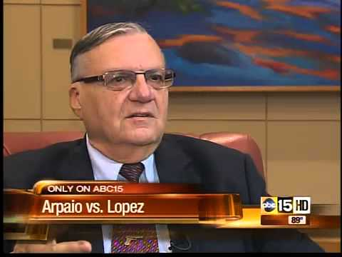 Joe Arpaio reaction to comedian George Lopez rant