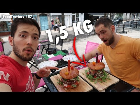 [FoodTrotters #57 - Aurillac] 1500G BURGER : Un maxi burger, made in Aurillac !