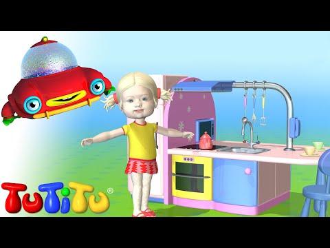 Episodio cartone animato TuTiTu e la Cucina, TuTiTu va in cucina, episodio completo