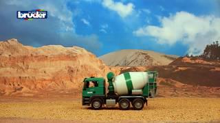Video Bruder Toys MAN TGS Cement Mixer Truck #03710 MP3, 3GP, MP4, WEBM, AVI, FLV Mei 2019