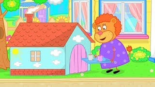 Video Lion Family Children's House Cartoon for Kids MP3, 3GP, MP4, WEBM, AVI, FLV Mei 2019