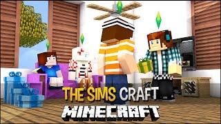 The Sims Craft Ep.60 - Amigo Secreto Entre Familia !!
