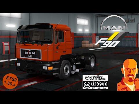 MAN F90 ReWorked ETS2 DX11 1.36.x