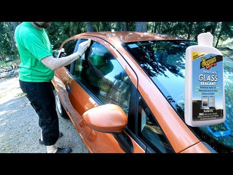 Meguiar's - Perfect glass clarity - Cleaner, Compound and Sealant