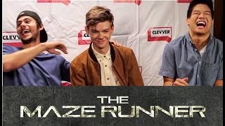 Video Maze Runner Cast Will Crack You Up MP3, 3GP, MP4, WEBM, AVI, FLV April 2018