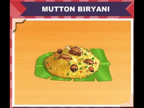 Cooking Game:Mutton Dum Biryani Making Game Play And Make Yummy Mutton Biryani 2018