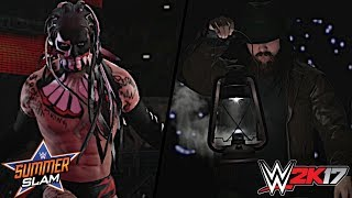 After weeks of turmoil between Bálor and Wyatt, WWE has announced that Finn Bálor and Bray Wyatt will go one on one at WWE SummerSlam 2017!Show some love by leaving a like, sharing and subscribing for more awesome videos like these!OUTRO MUSIC: Undertaker's Rollin Theme Cover by JAYDEGARROWJAYDEGARROW's YouTube: https://www.youtube.com/channel/UCit4zHRRYaU5Og8ZHqvA7jQFOLLOW ME HERE:Facebook: https://www.facebook.com/julian.rosado.14Twitter: https://twitter.com/Jules1451Instagram: https://www.instagram.com/jules1451/Snapchat: @Jules1451Want to see more WWE 2K16 & WWE 2K17 Content? Visit this link for more! http://www.thesmackdownhotel.com