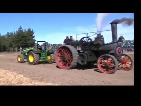 Как паровой трактор 19 века победил современный дизель - DomaVideo.Ru