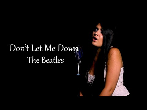 "The Beatles  ""Don't Let Me Down"" Cover by Andrei Cerbu"