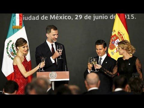 Μεξικό: Επίσημη επίσκεψη του βασιλιά της Ισπανίας Φίλιππου