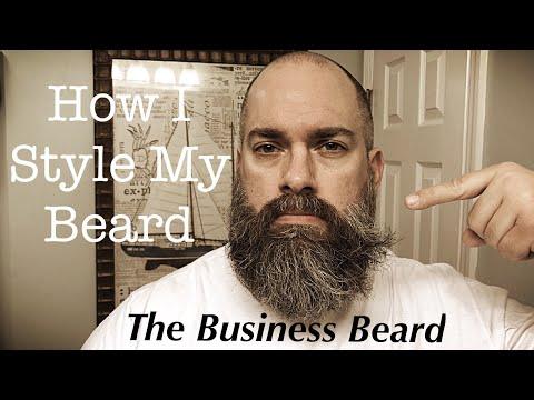 Beard styles - How I Style My Beard