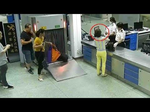 العرب اليوم - شاهد: امرأة تحاول تهريب 124 قطعة ألماس في ملابسها الداخلية
