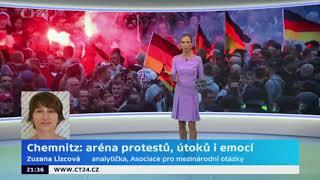 Nepokoj a napětí v Sasku