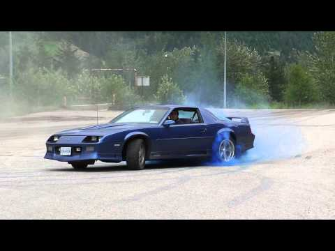 Blue Smoke Donuts and Burnout in Blue '91 Z28
