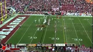 Aaron Colvin vs Oklahoma State (2012)