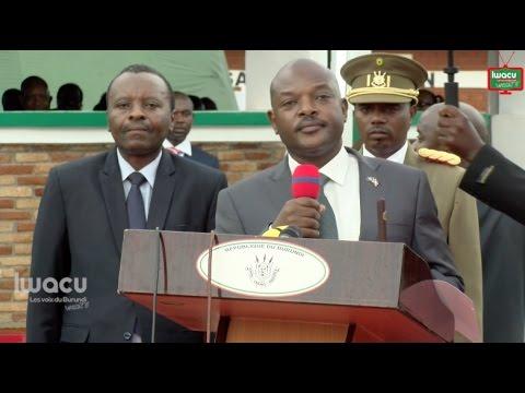 Pierre Nkurunziza : «On ne détourne pas ce qui appartient aux Burundais!»