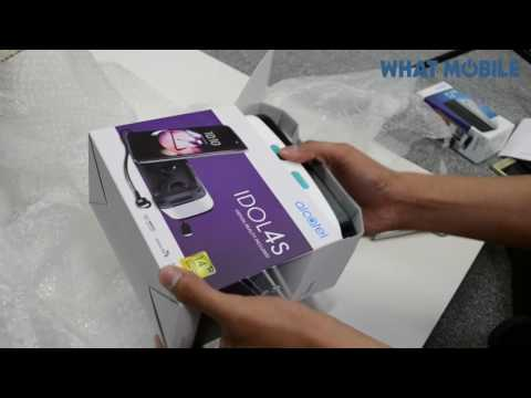 Alcatel Idol Pop 4 Plus and Idol 4S Unboxing and Impressions