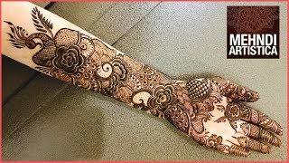 Full Hand Best Arabic Bridal Mehndi Design Ever  Floral Henna Mehendi For Hand  TEEJ SpecialClick For Best Mehndi CONES http://amzn.to/2tv0G6tMehndi Book http://amzn.to/2uXN6XmClick For Indian Bridal Saree/Wedding Saree http://amzn.to/2tv4ODtif you have any request just comment down below... email id: mehndiartistica@gmail.comFb Page: https://m.facebook.com/MehndiArtisticaInstagram: MehndiArtisticaproTwitter MehndiArtisticaYoutube: https://www.youtube.com/user/MehndiArtisticaLearn beautiful DIY henna/mehndi design in this tutorial.its specially made for Eid 2017 mehndi designs, Diwali 2017 mehndi designs, bridal mehndi designs, and all party mehndi designs...I always try to make latest mehndi designs and new mehndi designs and simple mehndi designs for beginners...hope you all are doing well...So, here is my new and latest Mehndi design Tutorial for you all, do watch and enjoy.I upload most famous mehndi designs on youtube.I am best mehndi/henna designer in India.I make Arabic mehndi designs, Indian mehndi designs, Pakistani mehndi designs, intricate mehndi designs, mandala mehndi designs, ornamental, jewelry, gulf, egyptian, etc.., so you will find best  mehndi/henna designs on my channel, MehndiArtisticaThis Mehndi Pattern is for modern bride, it's a full hand intricate Mehendi design hope you guys will appreciate it :)Mehndi, the ancient art of painting on the skin with henna, beautifies the body, rejuvenates the spirit, and celebrates the joys of creativity and self-expression :)Mehndi, the ancient art of painting on the skin with henna, beautifies the body, rejuvenates the spirit, and celebrates the joys of creativity and self-expression.THANKS ! LOVE YOU ALL :)