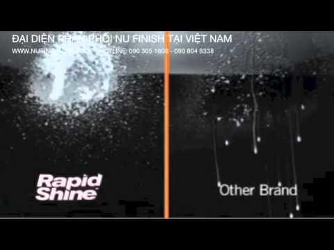 Xịt bóng nhanh xe hơi với Nu Finish Rapid Shine / Foam Detailer