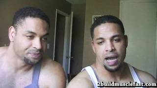 Optimum Nutrition Serious Mass Supplement Review @hodgetwins