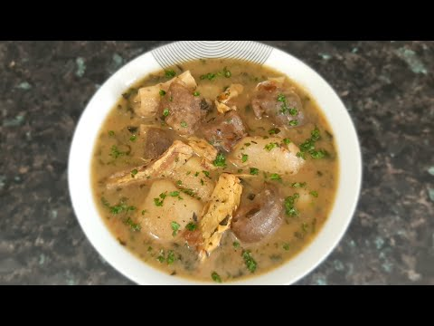 How to Cook Nigerian White Light Soup|Nsala Soup|Ofe Nsala