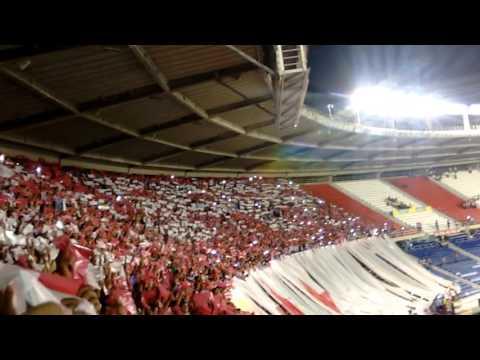 Junior 2 Santa Fe 0 - Final Copa Águila 2015 - Frente Rojiblanco Sur - Junior de Barranquilla