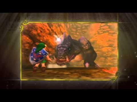 New Legend of Zelda Ocarina of Time 3D Trailer