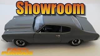 Nonton [Showroom] Chevy Chevelle SS grey Fast and Furious diecast car Film Subtitle Indonesia Streaming Movie Download