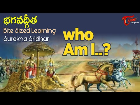 Who Am I? | BHAGAVADGITA Bite Sized Learning | Surekha Sridhar | BhaktiOne
