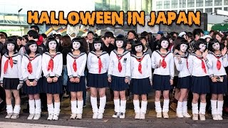 Halloween In Japan - Tokyo Costume Street Party Is So Cool!