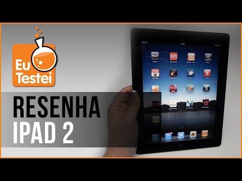 iPad 2 Wi-Fi 16GB Apple Tablet - Vídeo Resenha EuTestei Brasil