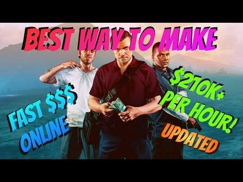 GTA 5 Online – Best Way To Make Money Fast In GTA 5 Online (Updated)($210k+ Per Hour)
