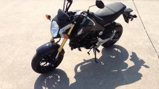 5. 2014 Honda Grom MSX125 Walk Around at Dealer