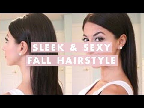 Sleek and Sexy Fall Hairstyle