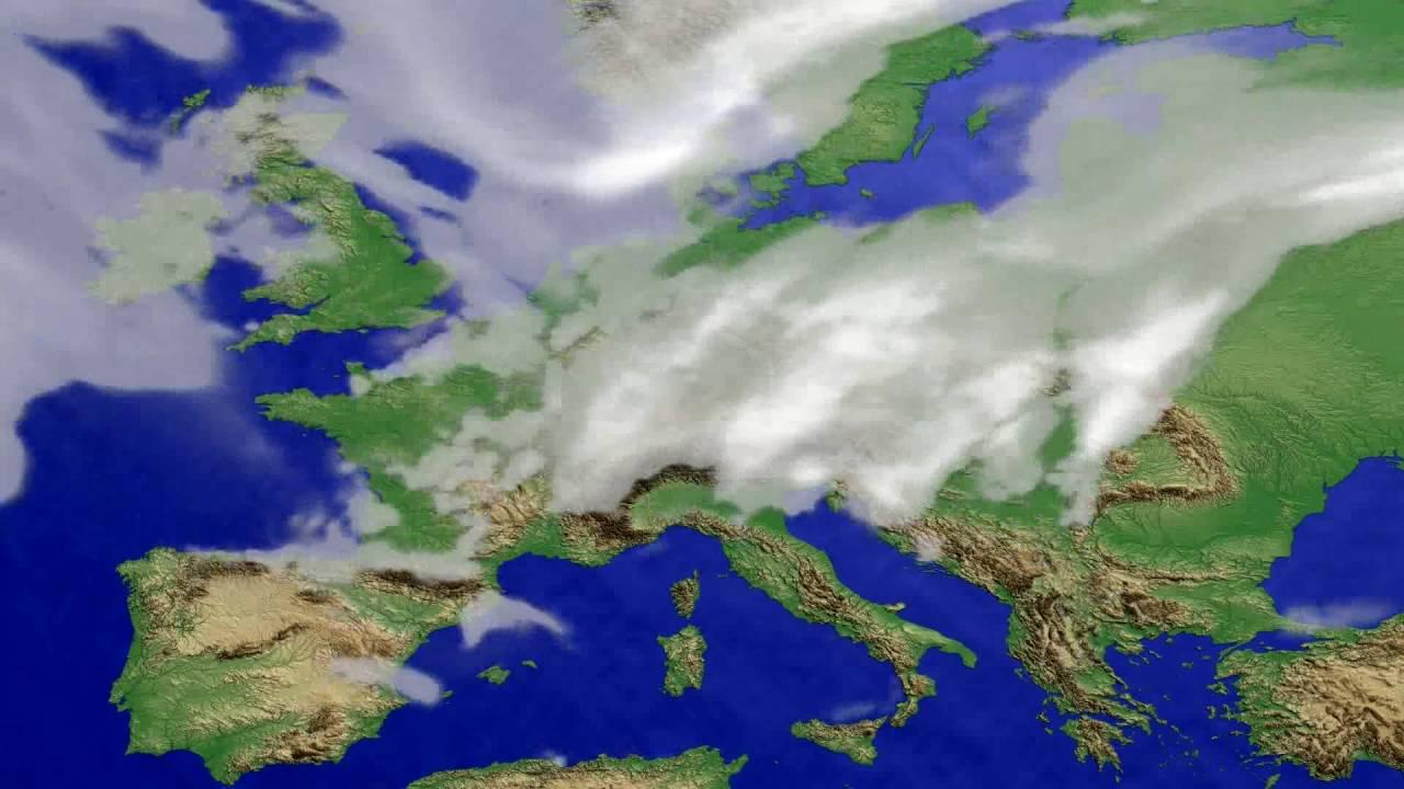 Cloud forecast Europe 2016-07-11