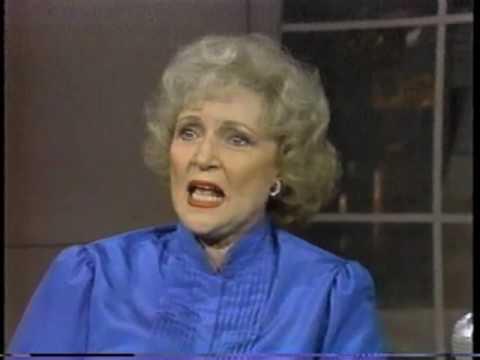 Betty White on Letterman, October 1, 1985