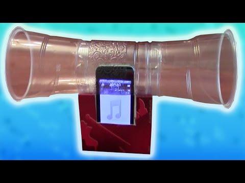 Колонки телефона своими руками