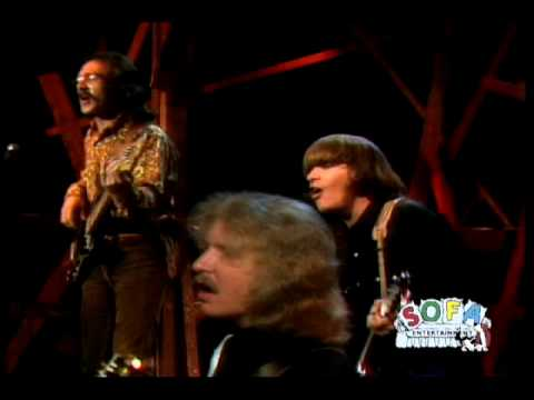 "CREEDENCE CLEARWATER REVIVAL ""Down On The Corner"" On The Ed Sullivan Show"