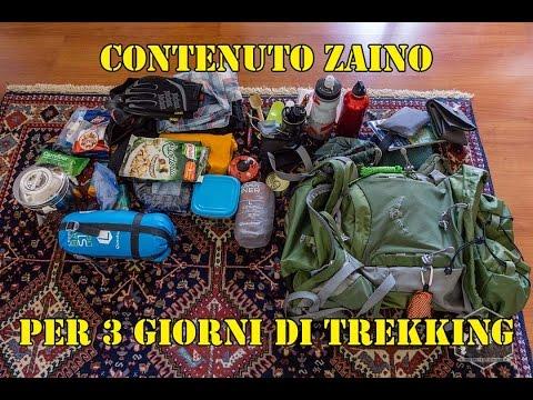 Zaino per un trekking di tre giorni (eng sub) 🎒