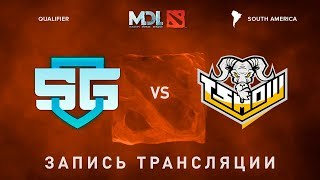 SG-eSports vs TSRising, MDL SA, game 1 [Mortales]