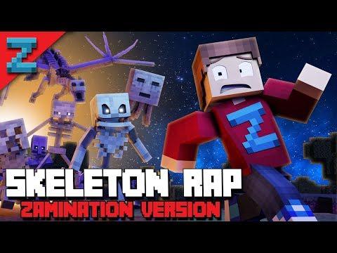 MINECRAFT SKELETON RAP | ZAMination Version (Animated Music Video) Dan Bull