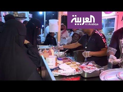 العرب اليوم - مطالب بتنظيم مطاعم الوجبات السريعة في الجنادرية