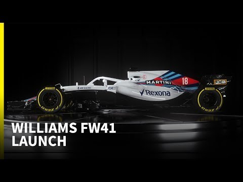 2018 Williams F1 launch
