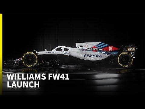 2018 Williams F1 launch