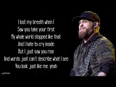 Brantley Gilbert - Man That Hung The Moon (Lyrics) 🎵
